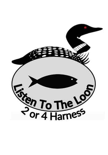 Listen to the Loon. 2-4 Harness, 1 Fish