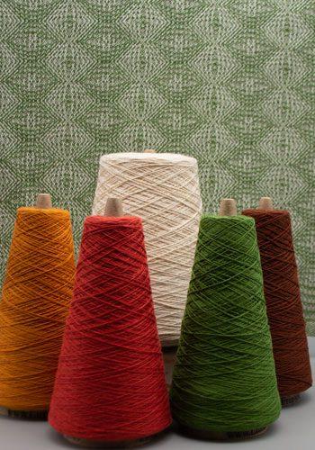 4 Season Towel, Autumn ZigZag Pattern