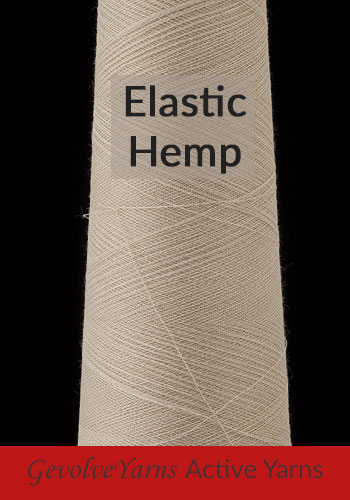 Elastic Hemp Yarns