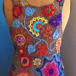M. Golino -- Free Form Crochet, Back View