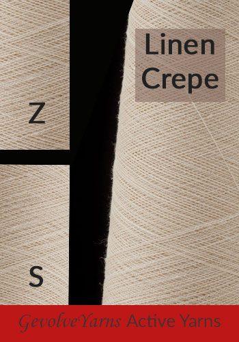 Linen Crepe yarns