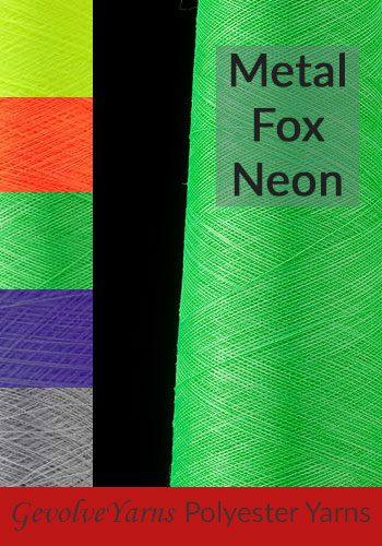 Metal Fox Neon Yarns