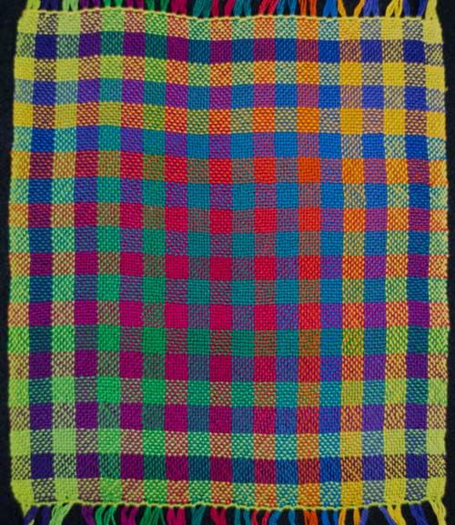 20 Color Gamp, Plain Weave
